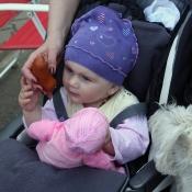 Moje první panenka - miminko s dudlíkem