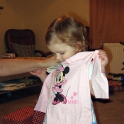 Jéé, tričko s Minnie