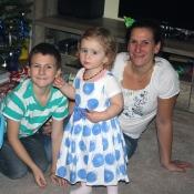 S mamkou a bráškou