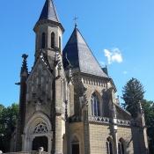 Schwarzenberská hrobka - bohužel v pondělí měli zrovna zavřeno