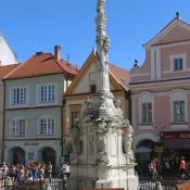 Mariánský sloup na náměstí