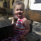 zmrzlinku mám moc ráda